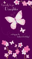 Daughter Butterfly Card