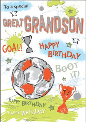 Great Grandson Football