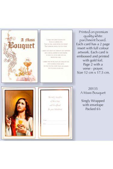 Mass Bouquet Card 20135