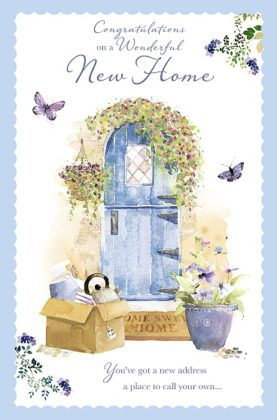 New Home Card Door