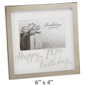 70th Birthday Frame FS