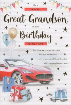 Great Grandson Birthday