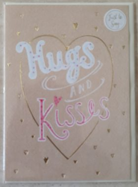 Hugs Kisses Card