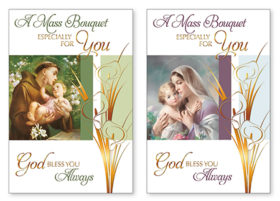 Mass Bouquet Card 20124