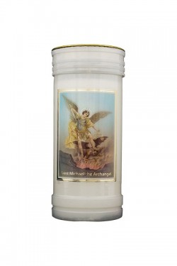 St Michael Candle 8695