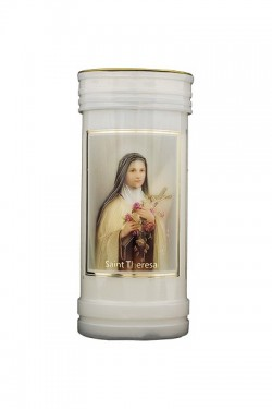 St Theresa Candle 8695
