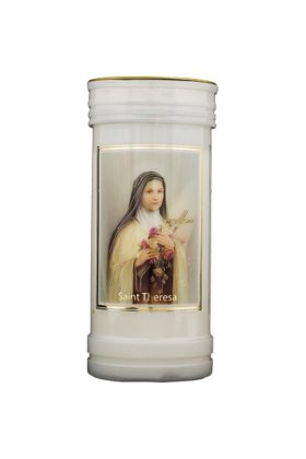 St Theresa Candle