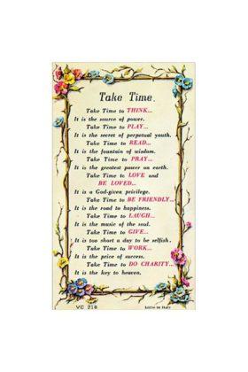 Laminated Prayer Card