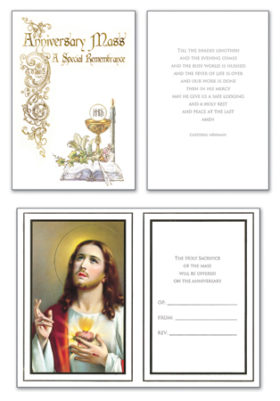 anniversary mass card 20041